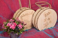 Organic Honey in Wooden Women Handbag