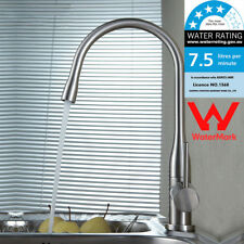 WELS Concise Kitchen Brushed Nickel Faucet Basin Sink Single handle Mixer Taps
