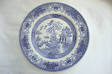 Dinner Plates 1960-1979 Blue & White Transfer Ware Pottery