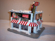 """Hawthorne Village Coca-Cola Holiday Village Collection """"The Jolly Diner"""""""