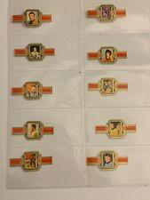 More details for vintage cigar bands labels set of 10 star trek derk de vries free post