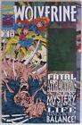 WOLVERINE - # 75 NOV - FATAL ATTRACTIONS / X-MEN - 1993 - MARVEL COMICS