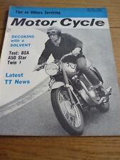 MOTOR CYCLE 28.05.64 BSA A 50 STAR ROAD TEST jm