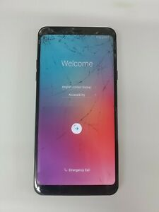 LG STYLO 4 Q710AL Boost Mobile BLACK CLEAN ESN CRACKED  - Plz Read