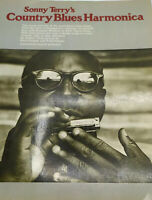 Sonny Terry's Country Blues Harmonica  by Sonny Terry & Kent Cooper . 1975