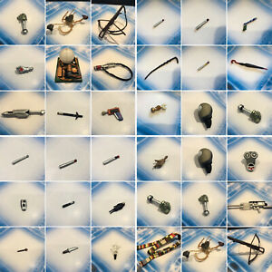 """DR WHO 5.5"""" SCALE ACTION FIGURE ACCESSORIES -  CLASSIC SONIC SCREWDRIVERS ETC"""