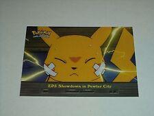 EP5 Showdown in Pewter City - 2000 Topps Pokemon Series 2 Episode Card