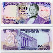 COLOMBIA 100 PESOS 1980 P 418 c UNC