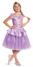Rapunzel Girls Princess Disney Tangled Costume Dress