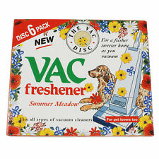Vac Vacuum Cleaner Air Freshener Discs Summer Meadow 6 Pack For All Hoovers
