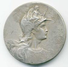 MEDAILLE EN ARGENT - CONCOURS NATIONAL DE GYMNASTIQUE - 27 ET 28 JUIN 1909