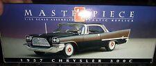 AMT MASTERPIECE 1957 Chrysler 300c BLACK Model Car Mountain PRE-ASSEMBLED 1/25