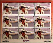 LIBERIA 2001 Klb 3692-93 Richard Petty Race Cars Driver Rennfahrer Rennwagen MNH