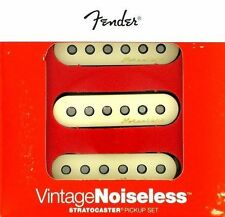 Fender stratocaster pickup VINTAGE NOISELESS AGED WHITE SET 0992115000