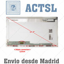 """Glossy Laptop EDP Screen For ChiMei InnoLux N173FGE-E23 Rev.C1 17.3"""" LED Compati"""