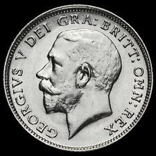 1917 George V Silver Sixpence, Rare, GVF+