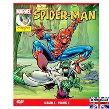 Spider-Man Original DVD Marvel Animated Season 3 Volume 1 Episodes 1-6 NEW DVDs