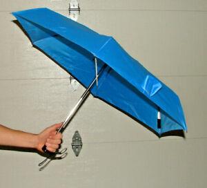 Cirra by ShedRain Auto Open/Close Compact Umbrella - Blue *Brand New* ^^^