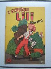 EDITION SPE / LILI  7 / TRAVAILLE