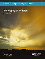 Philosophy of Religion (Access to Religion & Philosophy)-ExLibrary