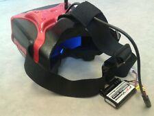 Headplay FPV Goggles 5.8GHz Battery HDMI / RC Racing Drone Plane Wing Fatshark
