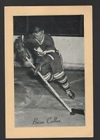 1944-63 Beehive Group II Toronto Maple Leafs Photos #394 Brian Cullen