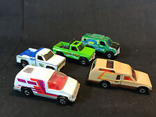 Old Vtg Diecast Toy LOT Hot Wheels Baja Van Minitrek Pickup Wreckr Tow Truck