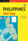 Philippines Wall Map Second Edition: Scale: 1:1,750,000; Unfolds to 40 x 27.5