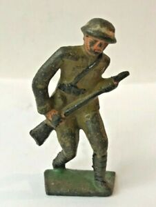 VINTAGE BARCLAY MANOIL LEAD SOLDIER: INFANTRY    TOY
