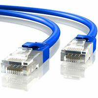 Mr. Tronic 30m Ethernet Network Patch Cable | CAT6, AWG24, CCA, UTP, RJ45 (30