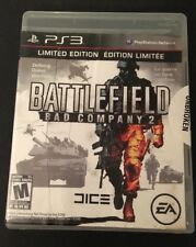 Battlefield Bad Company 2 : Limited Edition (Sony PS3, 2010) Tested & Complete!