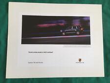PORSCHE OFFICIAL CAYENNE S/TURBO DEVILS WORKSHOP SHOWROOM ADVERT POSTER 2003 USA