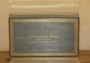 Christian DIOR 10 ml Esprit de Parfum, nachfüllbar, Vintage Rar verschweißte OVP