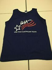 Vintage Champion Team USA Shirt 1995 Pan American Tank Top basketball jersey