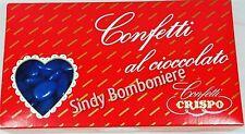 CONFETTI BLU cioccolato fondente 280 circ 1kg offerta compleanno GIURISPRUDENzA