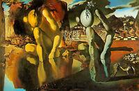 Framed Print - Salvador Dali Metamorphosis of Narcissus (Painting Picture Art)
