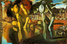Framed Print - Salvador Dali Metamorphosis of Narcissus (Painting Picture Art)
