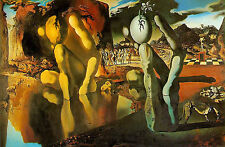 Incorniciato stampa-Salvador Dali metamorfosi di NARCISSUS (dipinto quadro art)