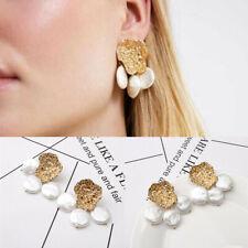 Pearl Dangle Ear Stud Earrings Hot 2019 Bohemia Fashion 1Pair Women Lady Elegant