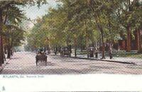 Postcard Atlanta GA Peachtree Street