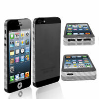 Self Adhesive Clear Decal Sticker Front Back Side Set for iPhone 5 5G