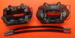 1964-1967 mustang 4 piston calipers Kelsey Hayes style  with hoses