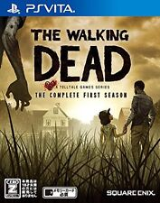 Used PS Vita The Walking Dead Japan Import (Free Shipping)
