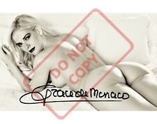 8.5x11 Autographed Signed Reprint RP Photo Grace Kelly Sexy