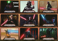 Star Wars Evolution 2016 ~ MINI-MASTER SET (Base +3 Insert Sets) 144 Cards Total