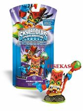 Skylanders Spyros Adventure DOUBLE TROUBLE Figure Card Web Code Series 1 NEW