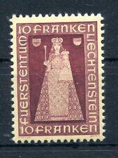 Liechtenstein 197 correctement tamponné/MADONNA... 2/1260
