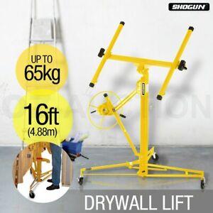 Shogun 16ft 65KG Gyprock Drywall Panel Lifter Plaster Board Lift Plasterboard