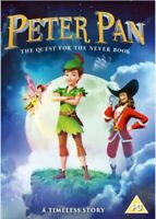 Nuovo Peter Pan - The Ricerca Per The Neverbook DVD (SIG650)
