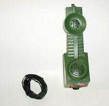 1964 JOHNNY SEVEN TOY COMBAT PHONE WITH THE WIRE - PRE-OWNED - ONE OWNER